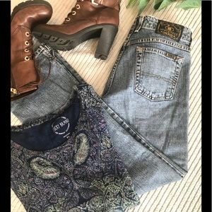 Lucky Brand Dungarees Wonder Jeans Size 0/25